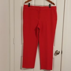 Pre-loved and in great condition Loft Red pants